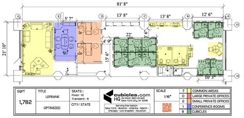 job layout plan office furniture layout with 6 work stations for 1 155