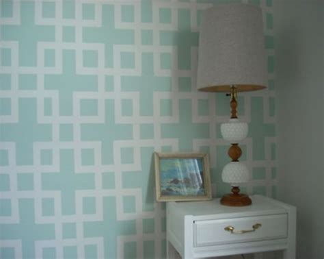 pattern accent wall ideas diy wall pattern with tape and paint home accent wall