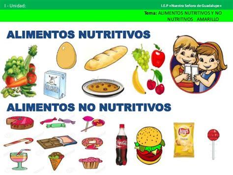 alimentos sanos y nutritivos alimentos nutritivos con dibujo imagui