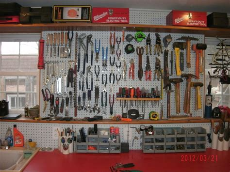 cool pegboard ideas garage organization going forward
