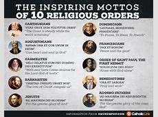Inspiring Mottos of 10 Religious Orders - St. Joan of Arc ... Growing In Christ Scripture