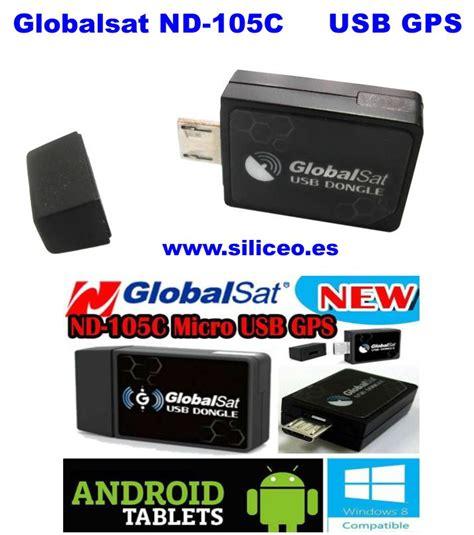 Gps Micro Usb Interface Nd105c Receiver Black globalsat nd 105c receptor de antena gps por micro usb android
