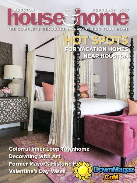 houston home design magazine houston house home 02 2017 187 download pdf magazines