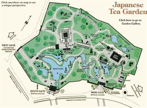 japanese garden san francisco map sfcohort golden gate park resources