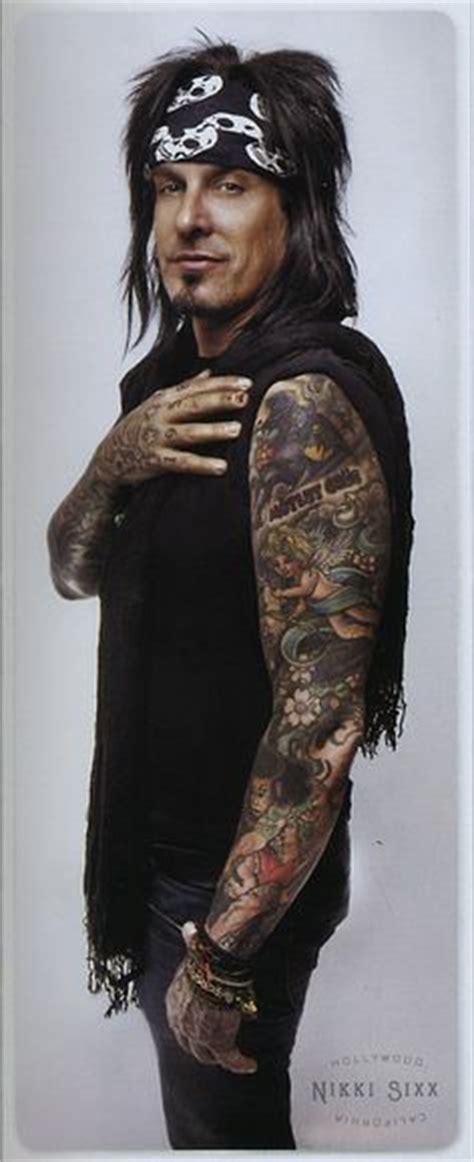 nikki sixx tattoos 1000 images about sixx on sixx