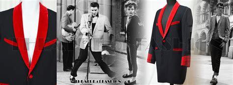 teddy boy drape jacket pattern vintage genuine rock n roll teddy boy teddy girl unisex