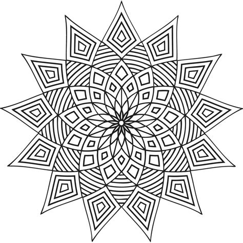 coloring pages geometric free printable geometric coloring pages for kids