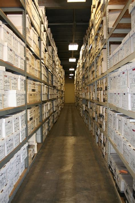 records storage facility