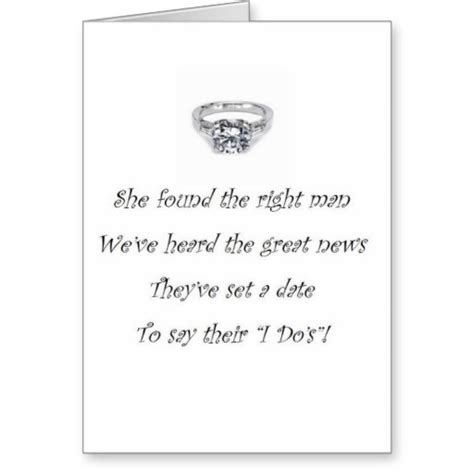 Greeting Card Sayings For Wedding Shower