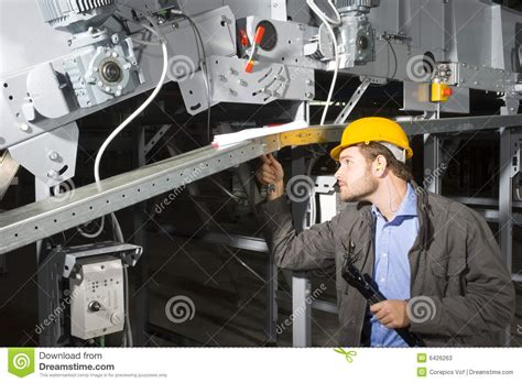 Engineer Maintenance by Maintenance Engineer At Work Stock Photos Image 6426263