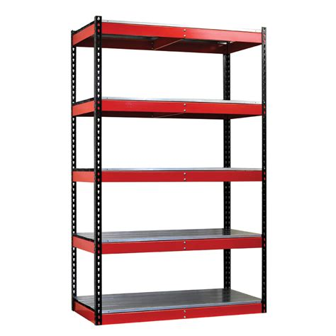 Garage Shelving Metal Steel Garage Shelving Decor Ideasdecor Ideas