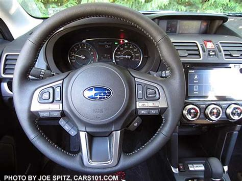 subaru forester steering wheel 2018 subaru forester research webpage