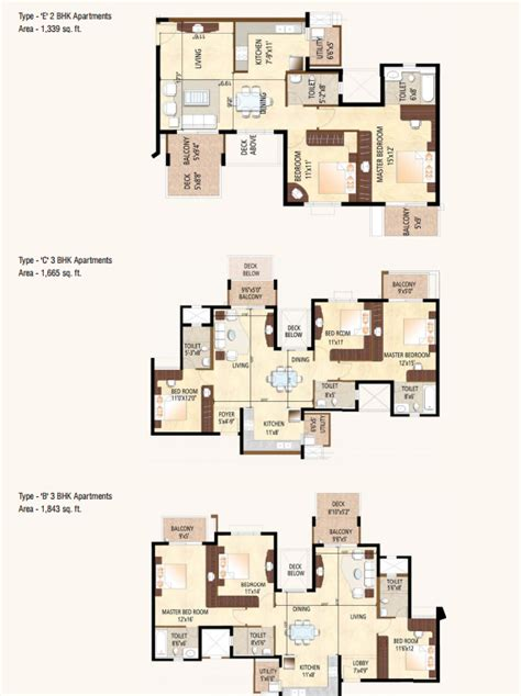 Mall Bangalore Floor Plan by Purva Highland Kanakpur Road Bangalore Sarthak Estates