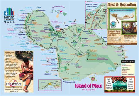 printable road map maui hawaii maps maui uptowncritters