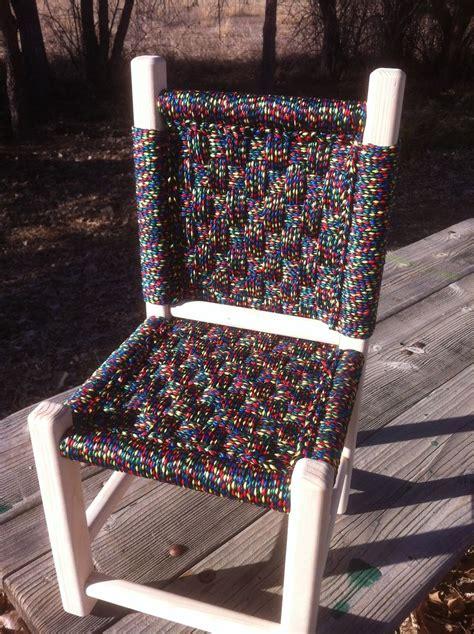 hand  kids post  rung macrame chairs  abc