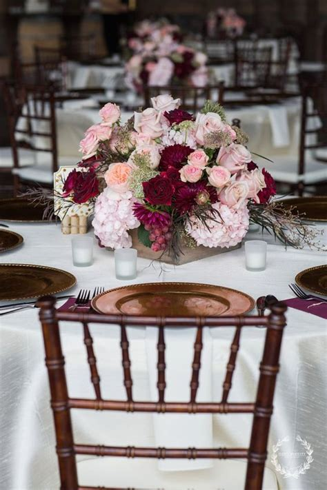 30 Burgundy and Blush Fall Wedding Ideas   Wedding