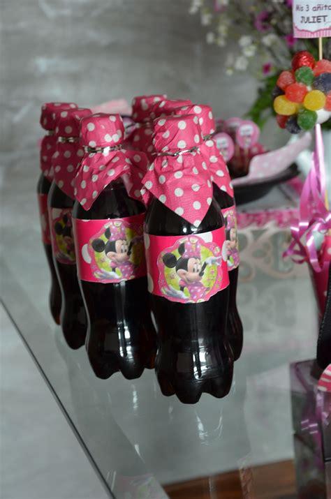botellas de gaseosas personalizadas aqu 237 decoradas de - Decorar Botellas Minnie