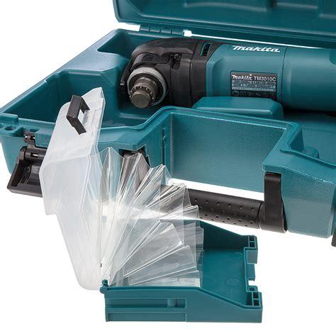 Multi Cutter Makita makita tm3010ck oscillating multi tool 320w with tool less