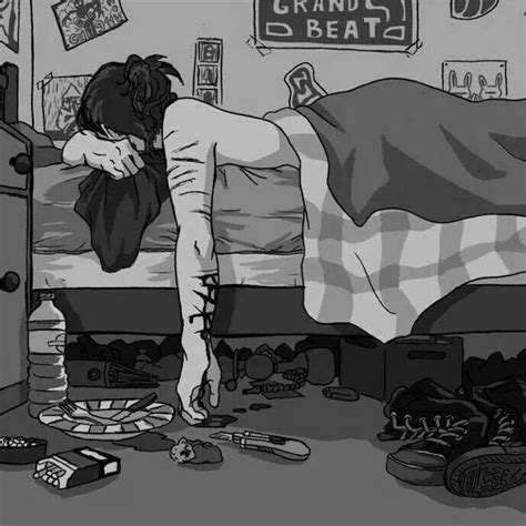 imagenes suicidas soledad tristeza tumblr dibujos buscar con google