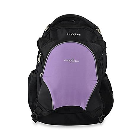 Cooler Diaperbag Two Disanto Backpack buy obersee oslo bag backpack with detachable cooler in black purple from bed bath beyond