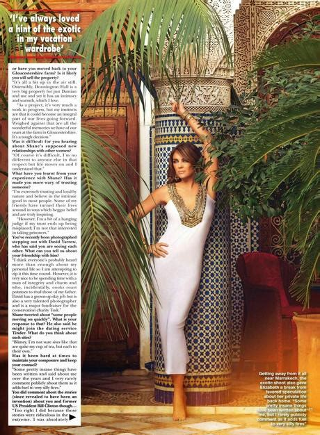 Elizabeth Hurley In Hello Magazine And Also Another Wedding Dress by Elizabeth Hurley For Hello Magazine Uk May 2014 Paperblog