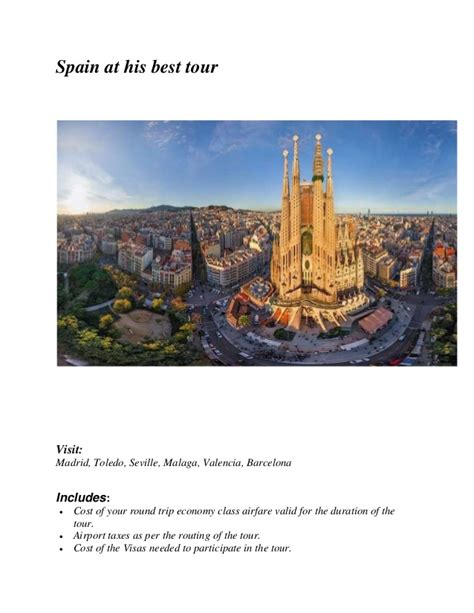 Toledo Mba Costs by Itinerary On Spain