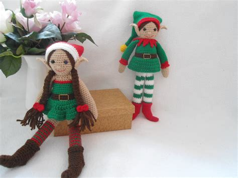 pattern for a christmas elf christmas elf crochet pattern