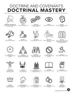 D&C Doctrinal Mastery Printables for 2018 Seminary | THE