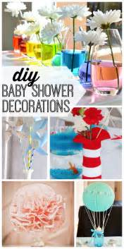 diy baby shower decorations my and