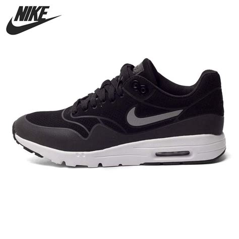 Original Bnib Nike Wmn Air Max 1 Essential Blackdove Grey original new arrival nike wmns air max 1 ultra moire s running shoes sneakers in running