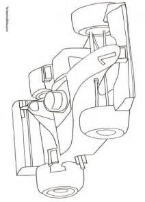 Coloriage Voiture De Formule 1 Dessin 9 T 234 Te 224 Modeler