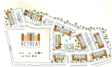 Apartment Houston Map Retreat At Vintage Park Apartments In Houston Tx Maa