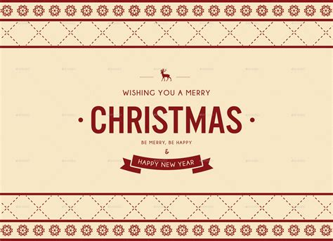 merry christmas l post christmas and new year postcard by nishamehta graphicriver