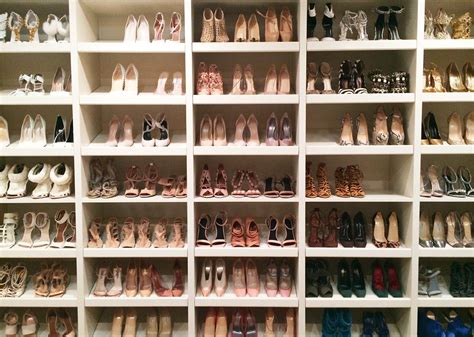Khloe Shoe Closet by How To Organize Your Closet Like West