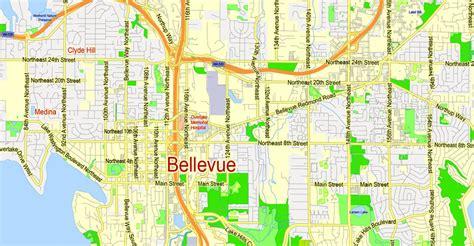 seattle map large printable map seattle wa large region halo g view level 13