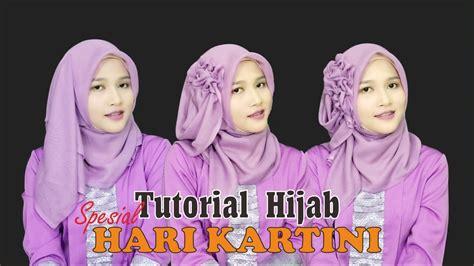 tutorial hijab paris untuk hari raya tutorial hijab segiempat paris spesial memperingati hari