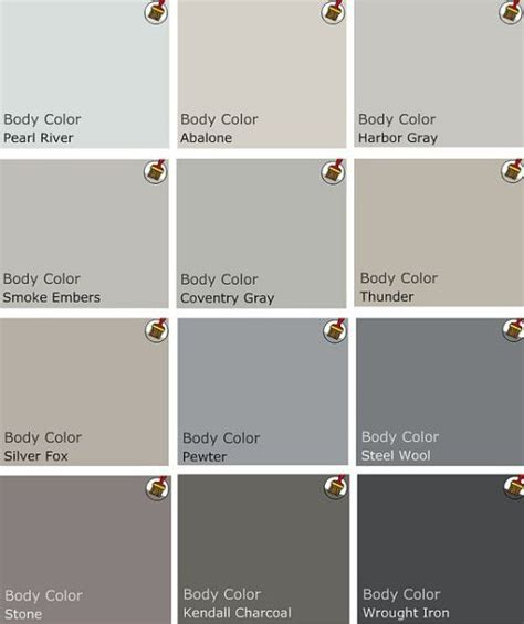 most popular gray paint colors greige colors for the home pinterest