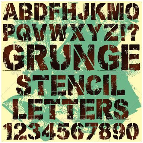 ai letter pattern 31 letter stencil letter templates free psd vector ai