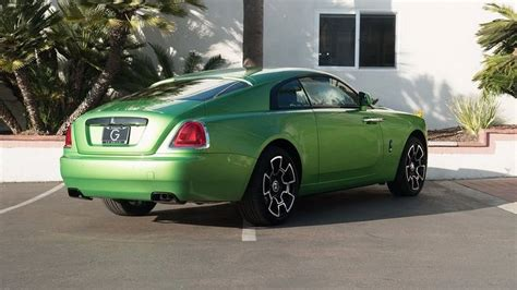 roll royce green rolls royce wraith goes for the java green color