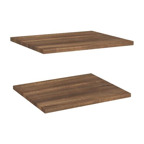 closetmaid wood shelf closetmaid 16 in x 72 in ventilated wood shelf kit in