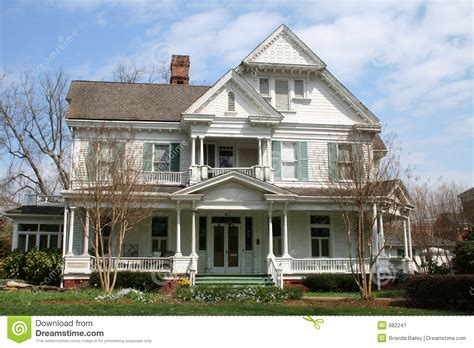 lovely houses lovely victorian house stock image image of history