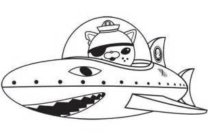 octonauts coloring pages coloring page the octonauts 9