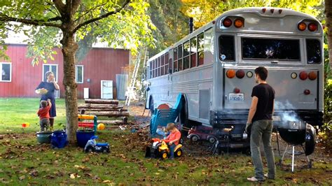 family ditch expensive rents to live in a converted school bus flyheight