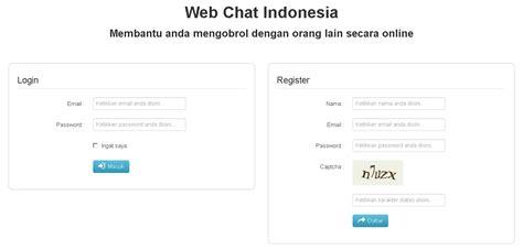 laravel chat tutorial warekost laravel web chat applications