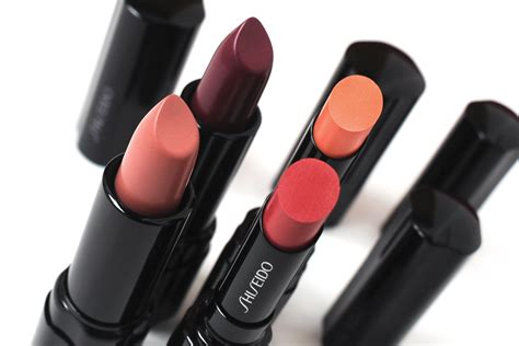 Lipstik Shiseido shiseido autumn winter 2015 collection review photos