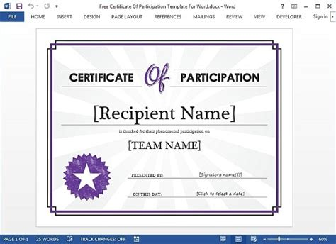 thank you certificate templates for word thank you certificate templates for word images