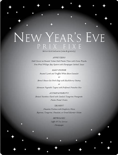 9 New Year Menu Templates Psd Eps Illustrator Pdf Free Premium Templates New Years Ticket Template