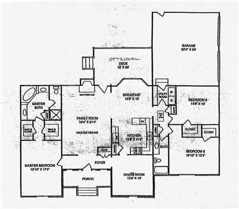 Large Ranch Floor Plans Baby Nursery Large Ranch Home Plans Ranch House Plans Luxamcc