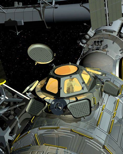Cupola Space Station by Room With A Helluva View Space Station Gets Earth