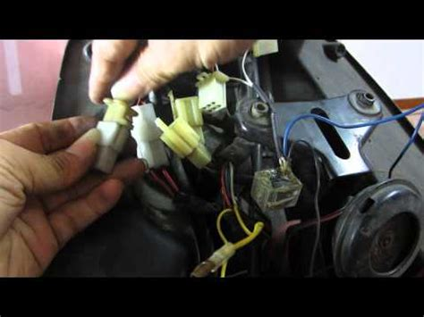Alarm Spy5000m pemasangan alarm remot motor aman bagian satu xilfy